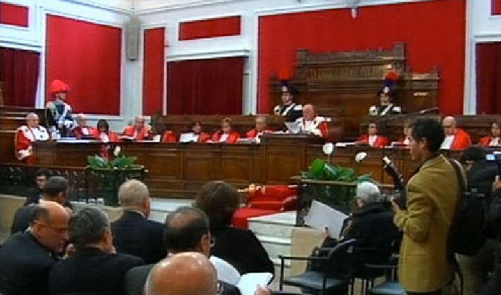 Minniti e Del Sette all'inaugurazione dell'anno giudiziario a Reggio