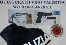 armi rapina bar vibo valentia