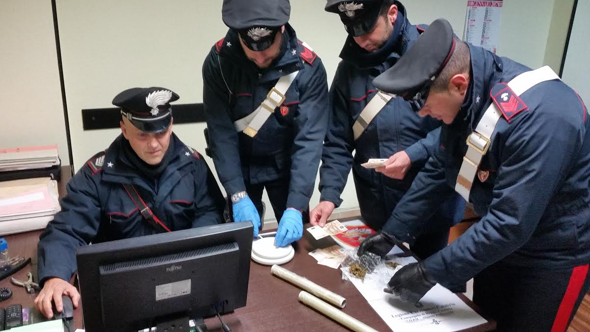 Aveva in casa droghe leggere, arrestato Giuseppe Polistina