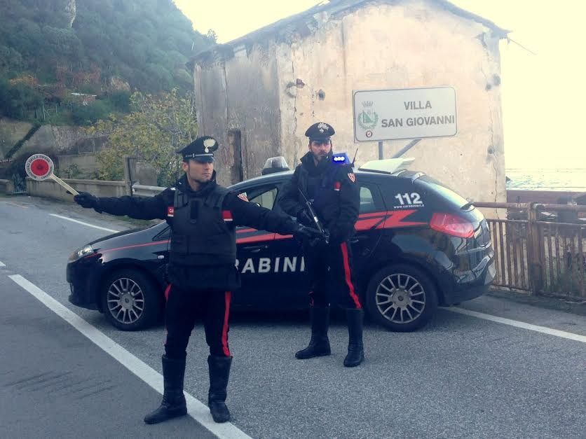 carabinieri villa san giovanni