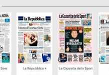 Lotta alla pirateria, chiusi 50 siti che fornivano i giornali gratis