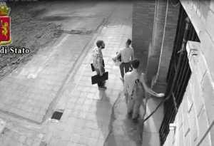 Uno dei furti a Cosenza scoperti nell'operazione Predator