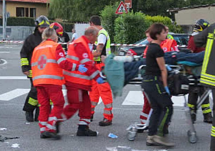 scontro auto moto incidente muore Angelo Giorno a Luzzi