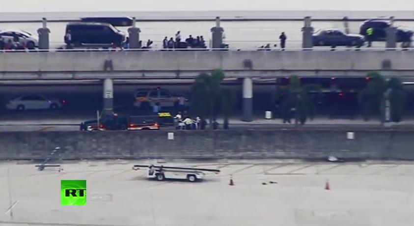Sparatoria in aeroporto in Florida