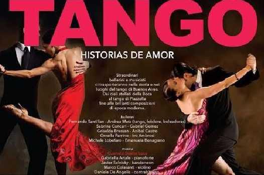 """Domenica al Rendano di scena """"Tango – Historias de Amor"""""""
