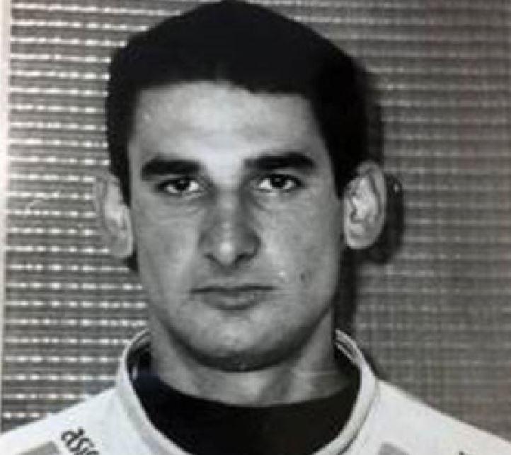 Angelo Massaro il giorno del suo arresto nel 1996