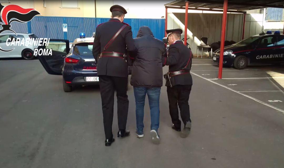 Arresto carabinieri Roma