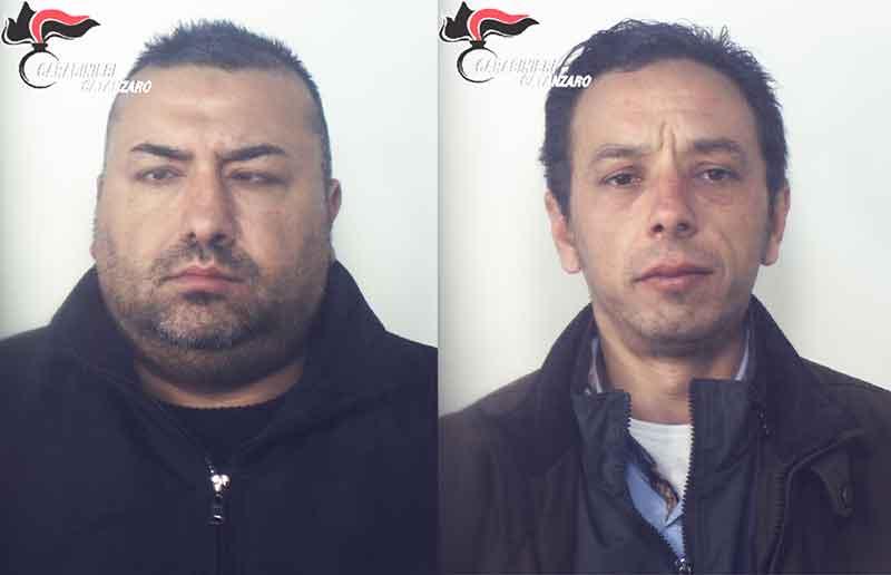 Da sinistra Donato Bevilacqua e Franco Passalacqua