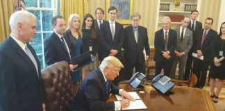 Donald Trump Casa Bianca