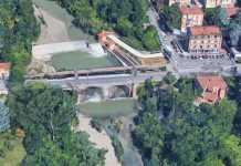 Fiume Savena Ponte via Toscana