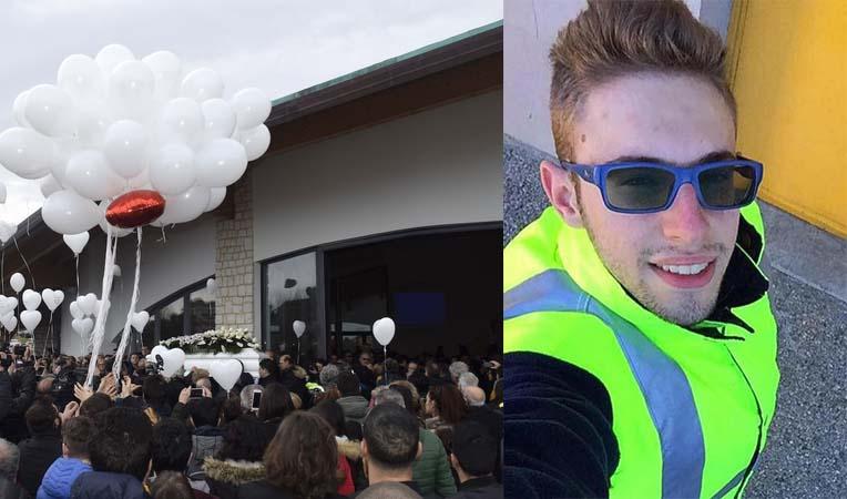 Omicidio Vasto,folla a funerali di Italo