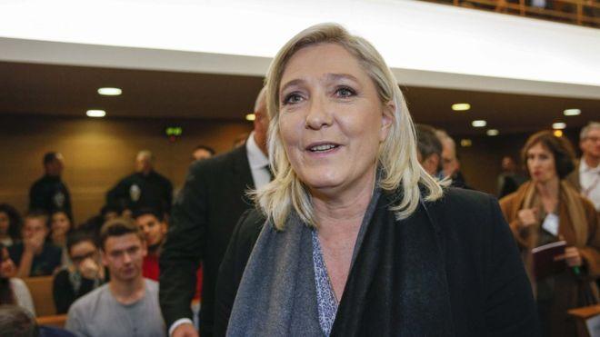 Le Pen:con me Francia fuori da Ue, Nato
