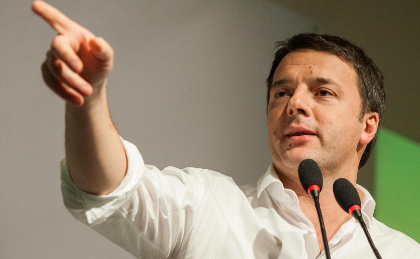 Da sinistra Michele Emiliano, Enrico Rossi e Roberto Speranza, rivali di Renzi