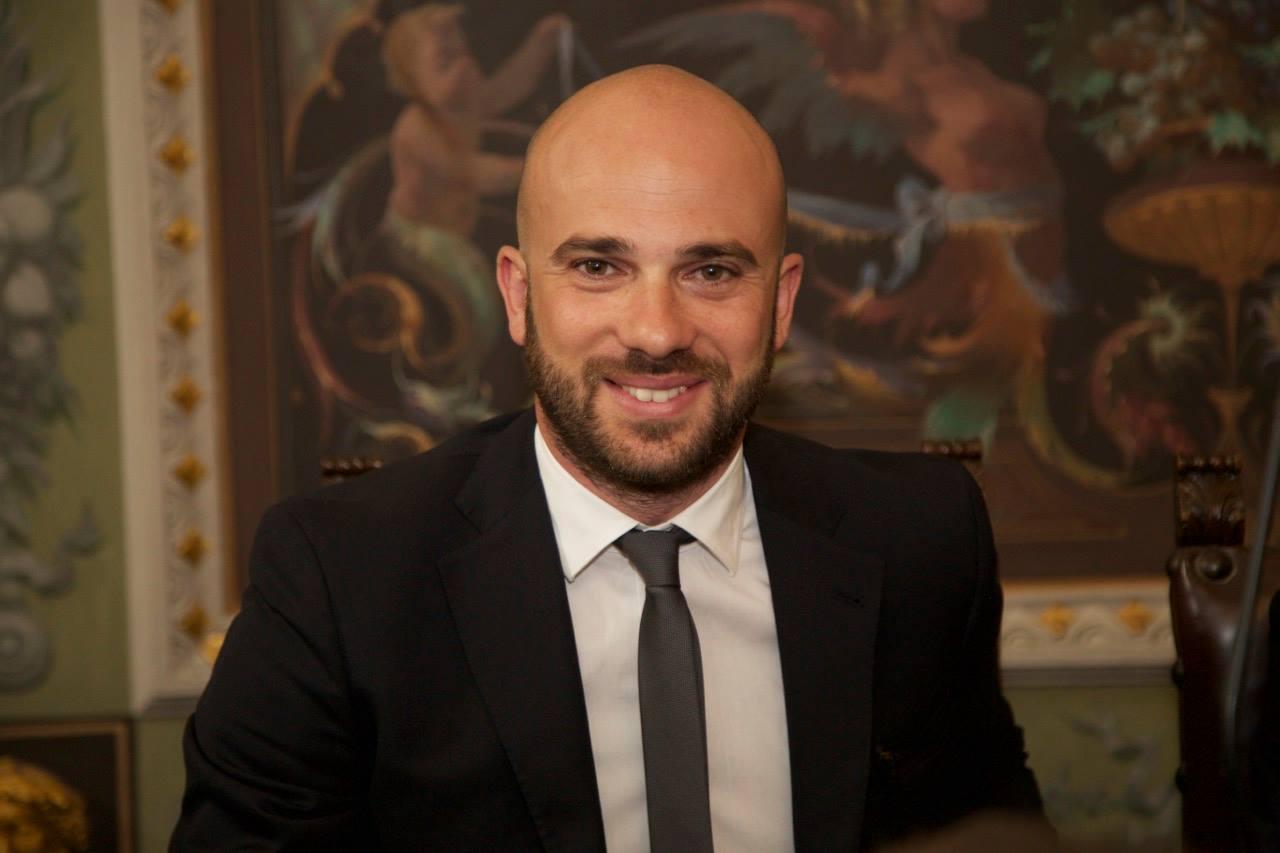 Il presidente del cosiglio comunale di Cosenza Pierluigi Caputo