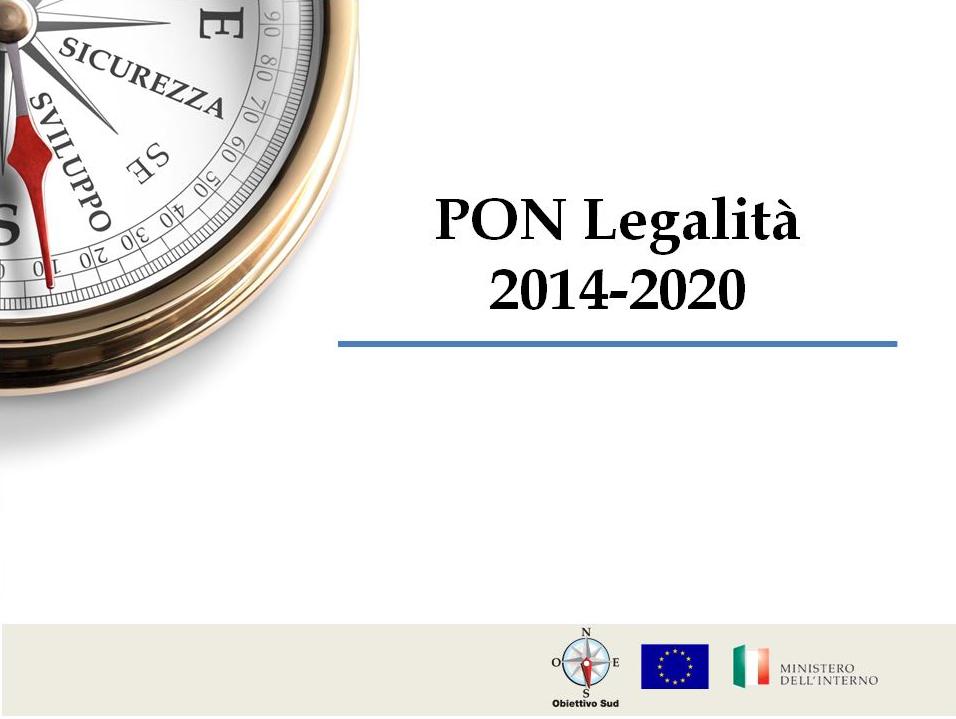 Pon Legalita 2014-2020
