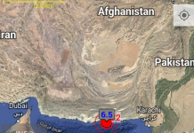 Terremoto in Pakistan