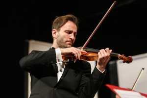 il violinista di Belgrado Stefan Milenkovich
