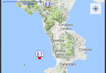 Terremoto basso Tirreno