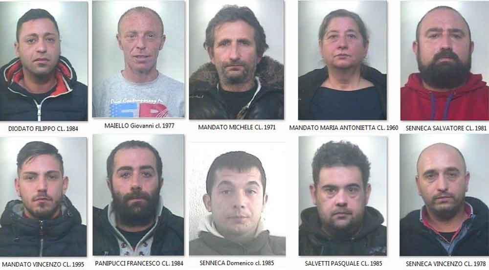 arrestati Maddaloni droga con bambini