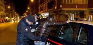 arresto carabinieri notte