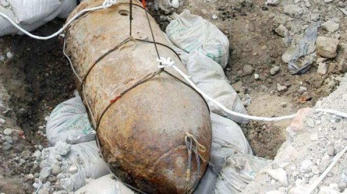 Ritrovata bomba bellica nei pressi di una diga a Maierato