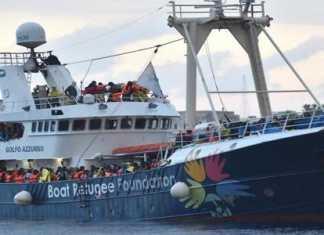 golfo azzurro nave migranti