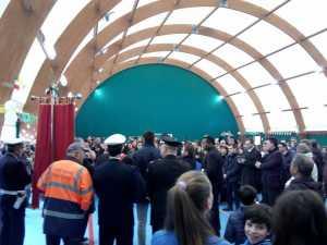 inagurazione palazzetto dello Sport Altomonte