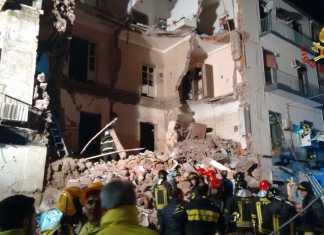 crollo palazzina Catania