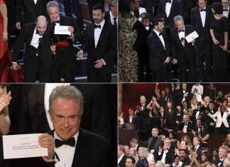 sequenza della notte degli Oscar Hollywood