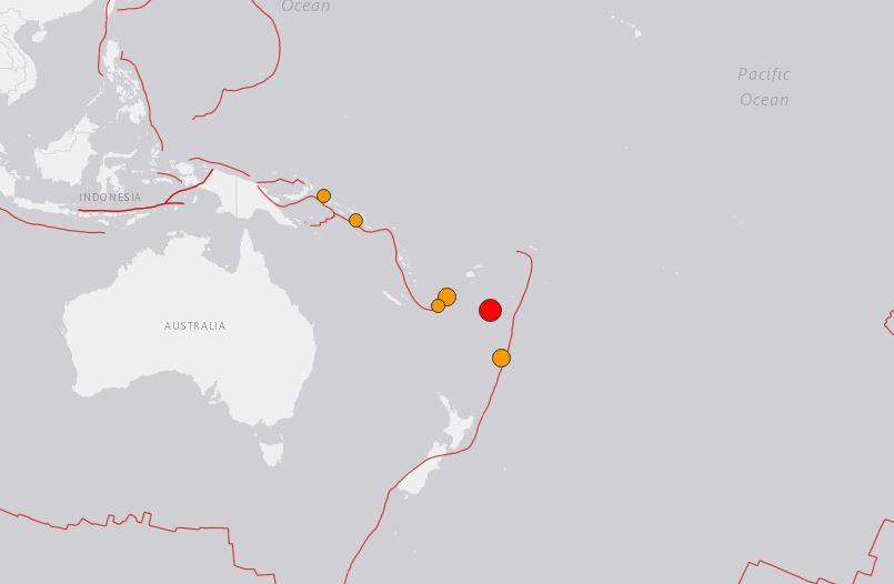 terremoto isole Fiji