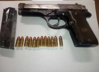 Pistola Beretta Loris Palmisano