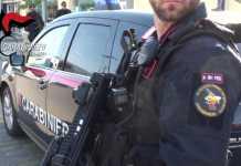 Forze antiterrorismo Arma Carabinieri Reggio