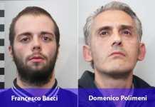 Francesco Bacci e Domenico Polimeni arrestati a Cosenza
