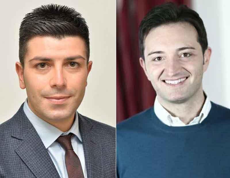 Francesco Spadafora e Davide Bruno lasciano Forza Italia e vanno nel gruppo misto