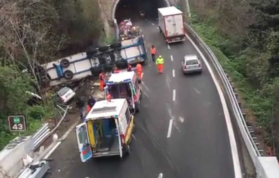 Incidente A10 Tir
