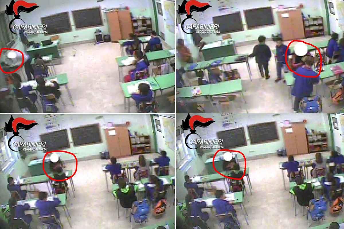 Maltrattamenti scuola elementare Oppido Mamertina
