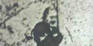 L'immagine rinvenuta sul pavimento in una scuola di Cosenza