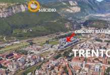 Trento, i luoghi del duplice omicidio e del suicidio
