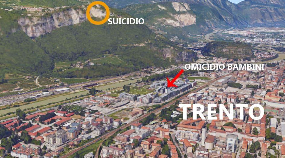 Duplice omicidio-suicidio a Trento, movente un raptus o altro?