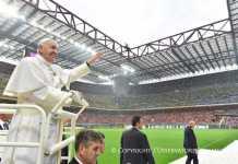 Papa Francesco Milano a San Siro