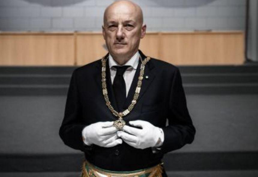 Stefano Bisi, gran maestro del Grande Oriente d'Italia