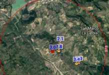 Terremoto tra Foggia e Campobasso