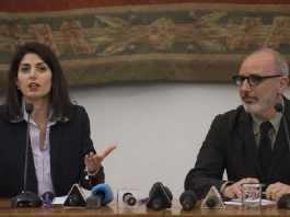 Virginia Raggi e Luca Montuori