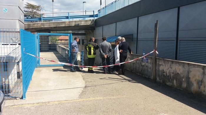 Prende fuoco cabina elettrica ospedale Annunziata di Cosenza