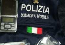 la droga sequestrata a Maria Pileria Capuano