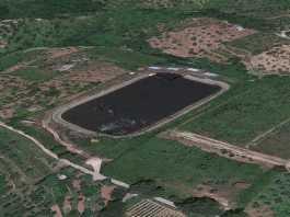 laghetto artificiale Arena dove è stato trovato morto Pasquale Gentile