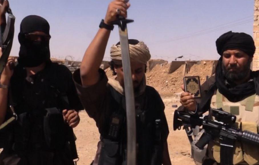 spada da vittoria islamic state cellula Isis