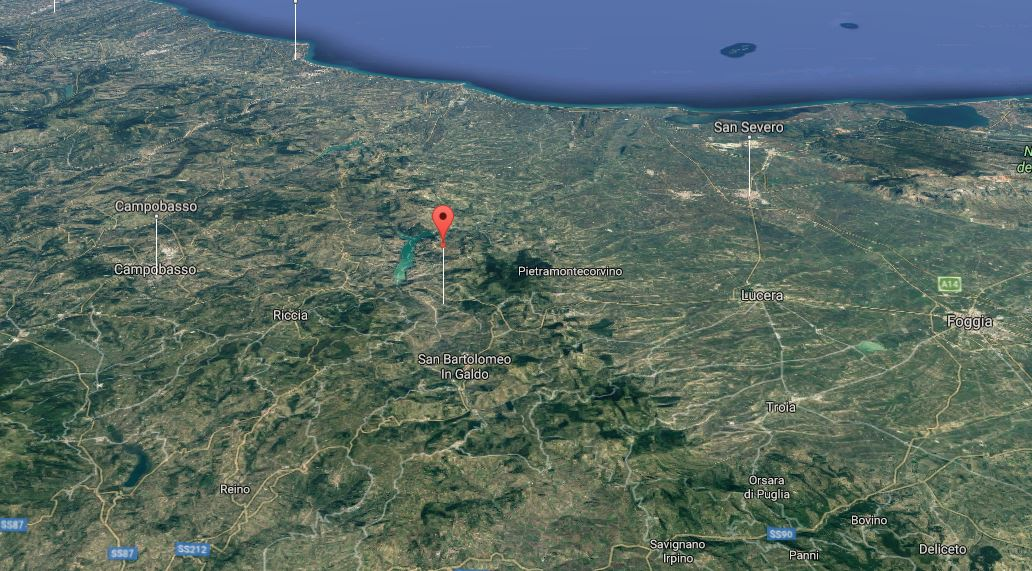 terremoto a Foggia Benevento