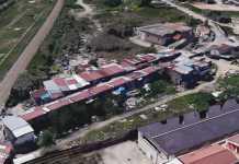 villaggio rom via Reggio Calabria a Cosenza
