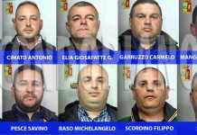 ARRESTATI OPERAZIONE RECHERCHE Gli arrestati nel blitz contro il clan Pesce